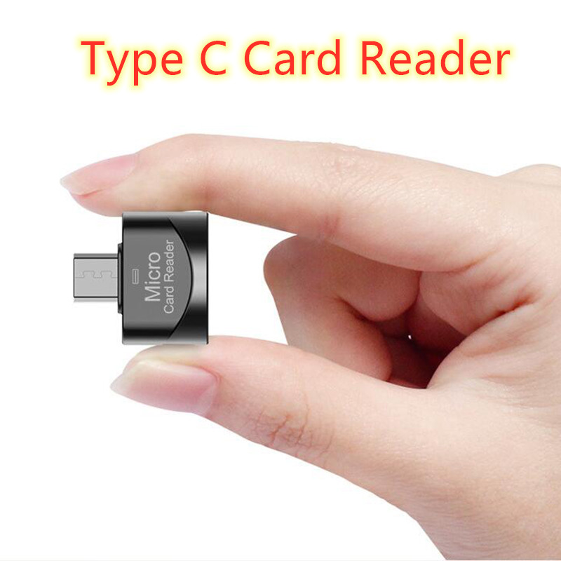 Мини-кардридер USB 3,0 Type C к Micro-SD TF адаптеру OTG кардридер смарт-кард-ридер для ноутбука Samsung Huawei