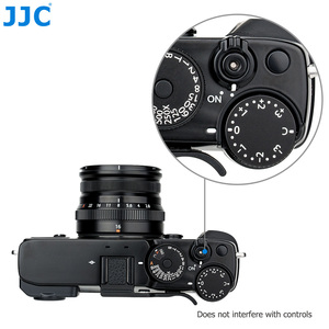 Image 4 - JJC Deluxe Metal Thumbs Up Grip For Fujifilm X Pro3 XPro3 X Pro2 XPro2 X Pro1 Camera Hot Shoe Hand Grip Camera Accessories