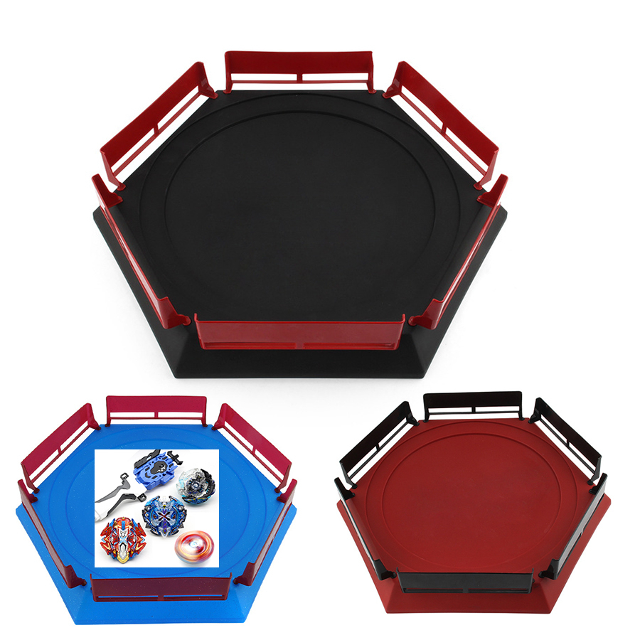 New Bey Bay Burst Arena Stadium Gift For Kids Burst Gyro Arena Blade Blades Launcher Spinning Top Toys Girl image