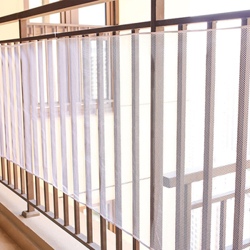 300x77cm Baby Fence Kids Safety Mesh Indoor Outdoor Rail Balcony Home Decor Fall Protection Kids Stairs Safety Net Thick Mesh 1