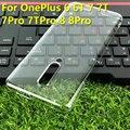 Чехол для OnePlus Nord для Oneplus 6 6T 7 7T 7pro 7Tpro 8 8Pro, Жесткий Чехол из поликарбоната с полным покрытием, прозрачная защитная задняя крышка для камеры