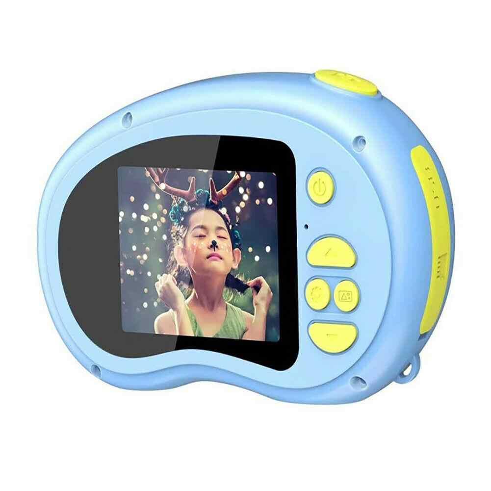 子供ミニカメラ子供知育玩具子供のためのベビーギフト誕生日ギフトデジタルカメラ 1080 投影ビデオカメラ