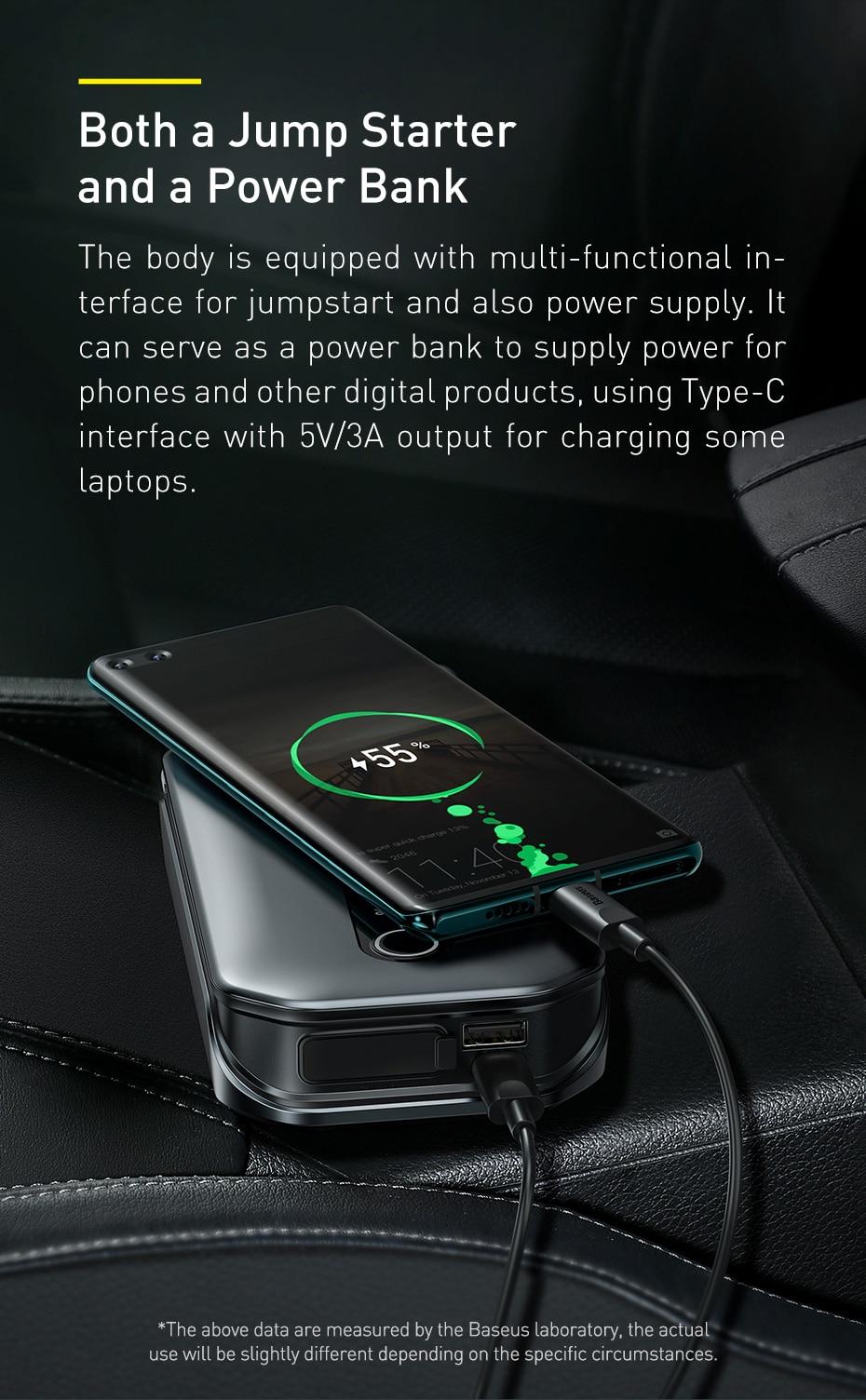 Baseus Super Energy Pro Car Jump Starter 9