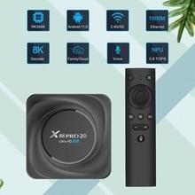 X88 PRO 20 TV Box RK3566 Quad-Core Android 11 Media Box 2.4G /5G WiFi Bluetooth 4.2 Set-Top Box