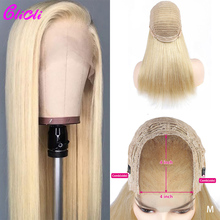 Brazilian Hair 4x4 Closure Wig 613 Straight Lace Front
