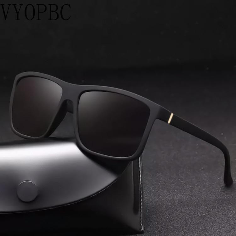 Модные солнцезащитные очки для мужчин Квадратные Солнцезащитные очки Ray-Ban дизайнерские цветные высококачественные женские солнцезащитны...