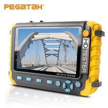 AHD CCTV tester camera 5 inch 8MP Portable CCTV Mini monitor cameras tester AHD CVBS tester kamery HDMI VGA R485 video tester