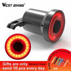 XLITE100 Đèn Pin Xe Đạp Xe Đạp Phía Sau Đèn Tự Động Bắt Đầu/Phanh Stop Cảm Ứng IPX6 Đèn LED Chống Nước Sạc Đi Xe Đạp Họa Tiết Rằn Ri Nét Ta 016RAR