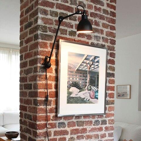 lampada de parede para leitura 360 graus