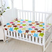 Almohadilla de orina resistente al agua para bebés, almohadilla de orina, almohadilla de orina reutilizable con dibujos animados, cama infantil, almohadilla de cambio de colchón