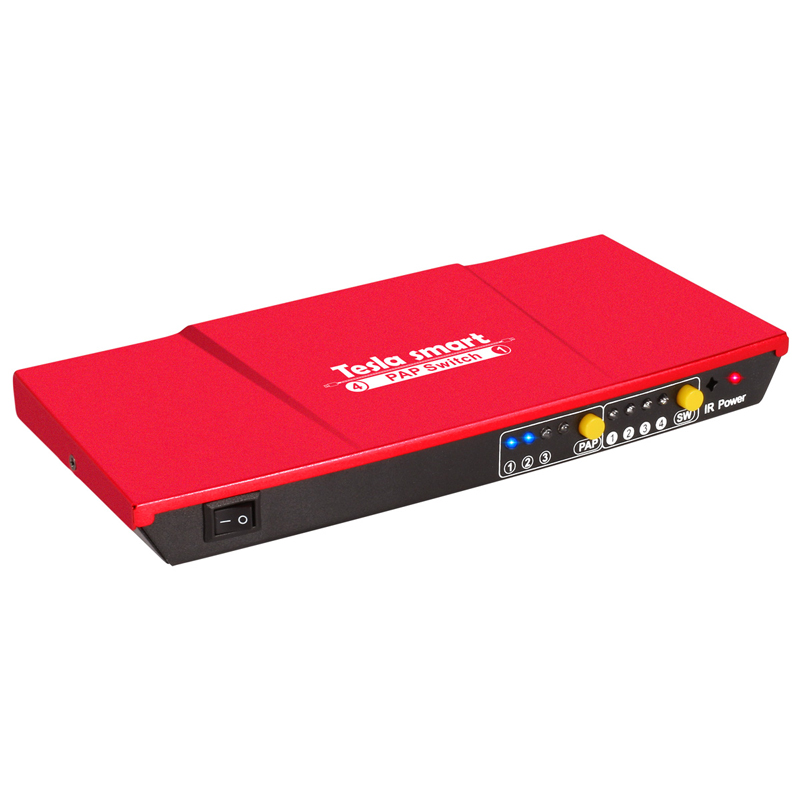 Free Shipping New Product HDMI Switcher 4 In 1 Out HDMI Switch 4x1 With PAP