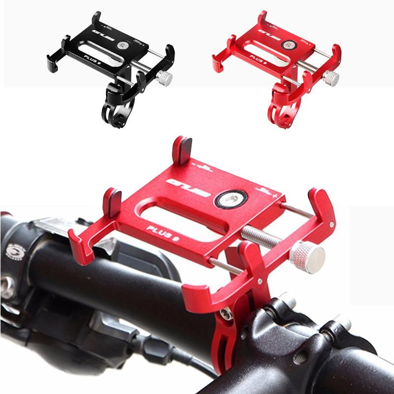 GUB PLUS 9 Bike Handle Mount Phone Holder Stand For 3.5-6.2 Inch Smartphone Motorcycle Handlebar Car Accessories Riding Cycling