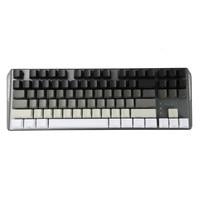 87 White Gray Black Mixed OEM Profile Keycaps 87 61 Key Side Print Blank Keyset Thick PBT For MX TKL Mechanical Keyboard GH60 XD60 (2)