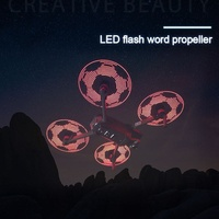 Professional LED Word Propellers Flash Programmable Quick Release Drone Accessories