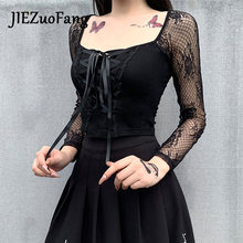 Jiezuofang модная сексуальная женская футболка с открытым пупком