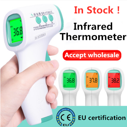 In Stock! Non-Contact Infrared Human Body Thermometer Home Hand-Held Digital Thermometer Temperature Measurement Meter Hot Sales