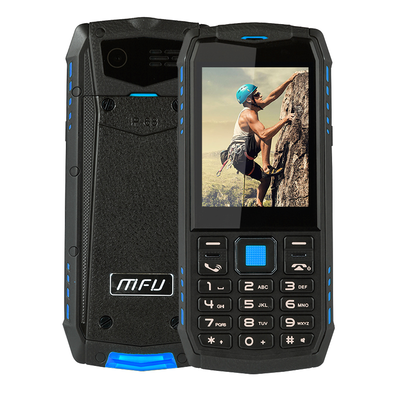 "IP68 Waterproof shockproof Russian keyboard WCDMA 3G mobile phone 2.8"" 2700mAh bluetooth Dual SIM Unlock Rugged cellphone A903S"