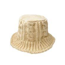 Женские Панамы женские зимние шапки для бассейна шерстяные тканые