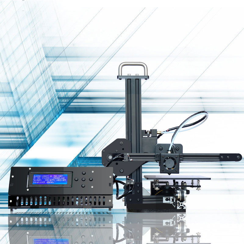 Tronxy  Mini DIY 3d printer High Precision desktop aluminium profile 3d Imprimante 150*150*150mm X1 3d Machine 4