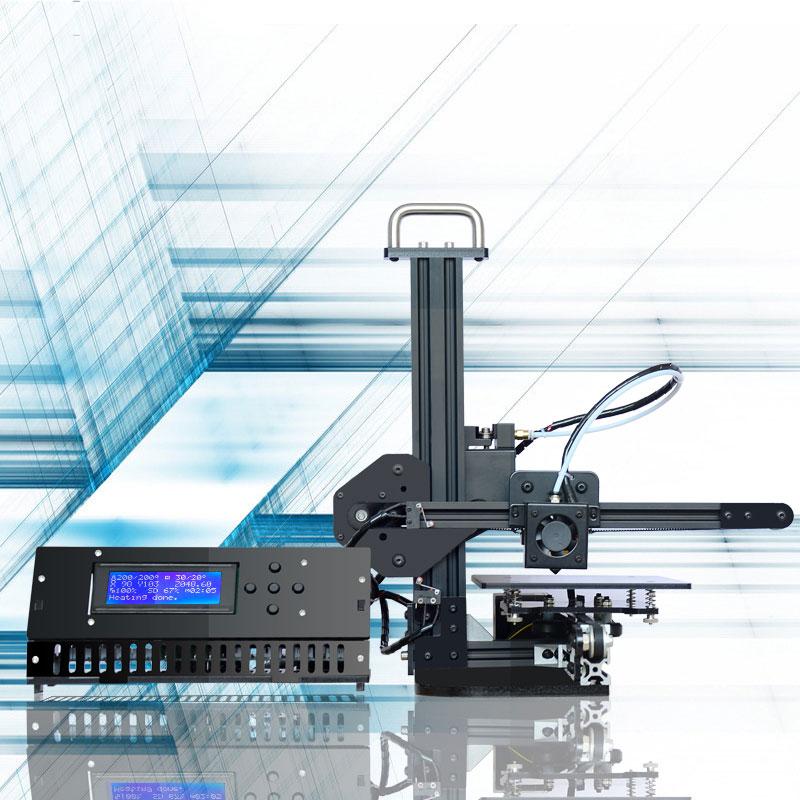 Tronxy X1 3d printer DIY kit Auto Leveling sensor High Precision Education desktop aluminium profile 3d Imprimante X1 3d Machine 1