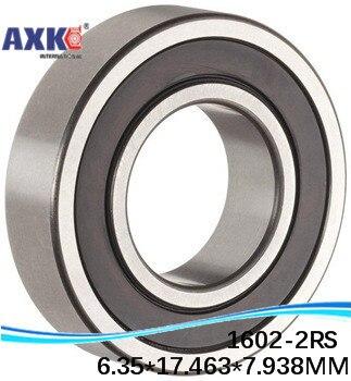 "High Quality 1601-2RS bearing 3/16"" x 11/16"" x5/16"" inch 4.762 x17.462*7.938mm miniature inch shielded ball bearing"