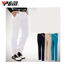 PGM Golf Pants Men's Stretch Breathable Quick Dry Golf Trousers Clothing Table Tennis Full Sleeve Winter Autumn Pants Sportswear(China)