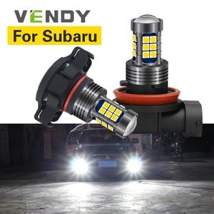 1pcs For Subaru Legacy Forester Impreza Outback Tribeca Crosstrek XV BRZ WRX STI Car LED Light Lamp H8 H11 H16 9006 HB4 PSX24W(China)
