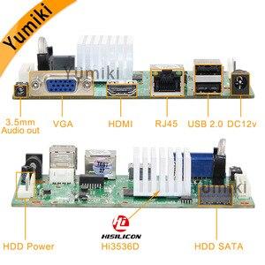 Image 2 - 16CH * 5.0MP H.265/H.264 NVR Mạng Vidoe Đầu Ghi DVR Bảng Thông Minh Analys Camera IP SATA Dòng ONVIF CMS Xmeye