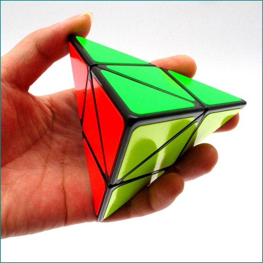 New Pyramid Magic Cube Puzzles New Cube Magicos Kids Toys Educational Brinquedo Educativo Cubo Magico Puzzle New Cube EE50MF(China)