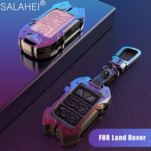 Image 1 - Car Key Case Holder For Land Rover Range Rover Discovery 5 Sport For JAGUAR XE XF XJ F PACE 2017 2018 2019 Car Interior Styling