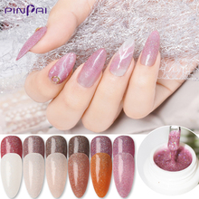 12 Colors 5ml UV Gel Nail Polish Highlights Glitter Sequins Soak Off UV Led Gel Nail Varnish DIY Manicure Color Nail Art Lacquer