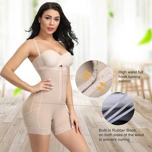 Image 3 - FeelinGirl Faja Reductoras Colombianas Post Surgery Slim Women Girdle Body Shaper Bodysuit Butt Lifter Shapewear Modeling Belt