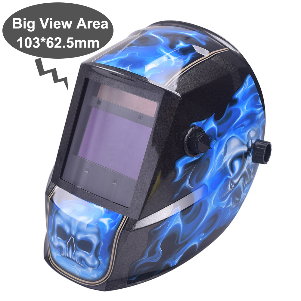 Big View Area 103*62.5mm 4 Arc Sensor Solar Auto Darkening TIG MIG MMA Welding Helmet/face Mask/Electric Welder Mask/goggles