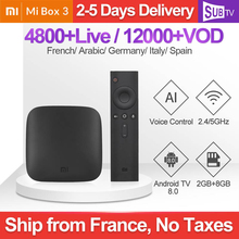 Xiaomi Mi Box 3 IPTV Turkey Arabic Canada Subscription TV France Germany IP Poland Bulgaria Italy
