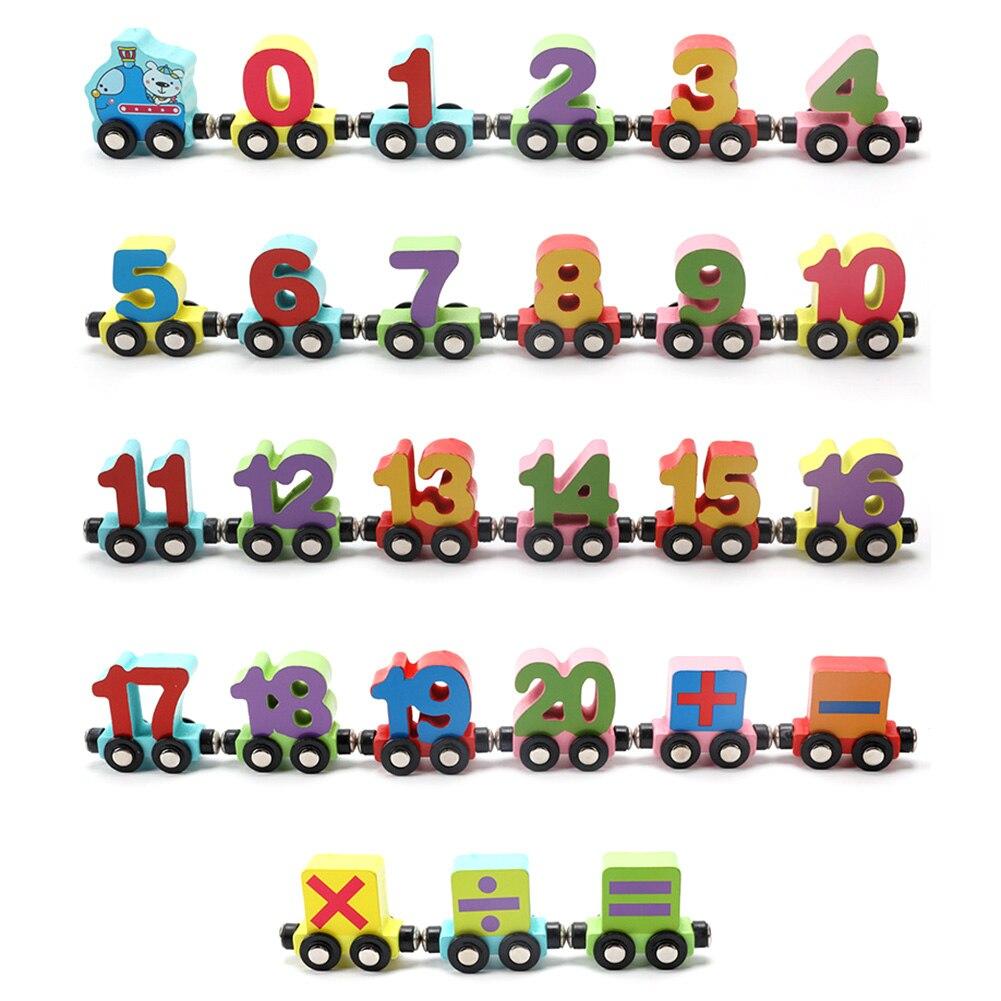 Carros de Trem Magnético Educação matemática Crianças
