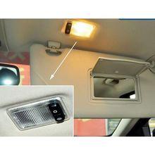 2020 New Car Reading Lamp Interior Sun Visor Lights fits for Ford Focus 2 2005-2011