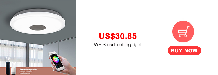 H06023a3eb696412fb311a2568a87360eZ Smart led ceiling Light RGB Dimmable 25W 36W 52W APP control Bluetooth & Music modern Led ceiling lamp living room/bedroom 220v