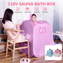 2 Person 2.6L Home Portable Spa kits Bath Indoor Loss Weight Relaxation Steam Pot Sauna Foldable Tent Sauna Accessories