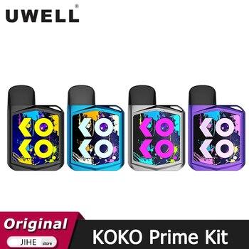 Uwell – Cigarette électronique Caliburn KOKO Prime, nouveau Kit, batterie 690mAh, 15W, Vape Fit Caliburn G Pod, cartouche 2ML, bobine