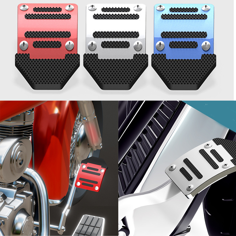 Universal Motorcycle Brake Pedal Cover Anti-skid Plate Of Decorative Refitted Parts
