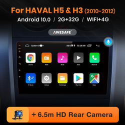 AWESAFE PX9 for Great Wall Haval Hover H5 H3 2010 2011 2012 Car Radio Multimedia video player GPS No 2 din Android 10.0 2GB+32GB
