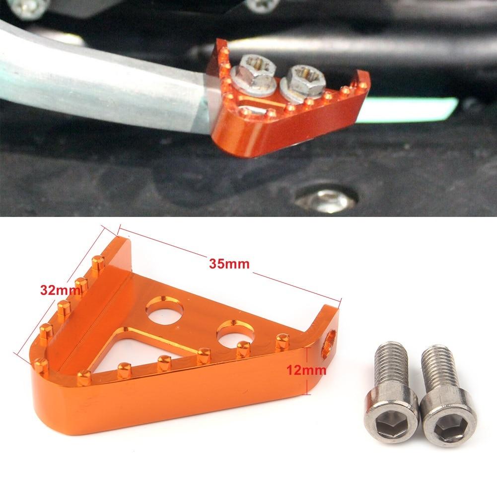 Orange Step Plate For Brake Lever KTM 950 ADVENTURE 03-06 990 ADVENTURE//S 07-08