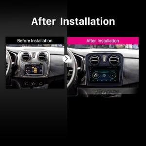 Image 5 - Seicane 9 inç araba multimedya oynatıcı 2 din Android 10.0 Renault Dacia Sandero 2012 2013 2014 2017 destek arka kamera