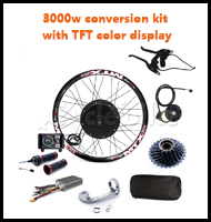 3000w conversion kit with TFT color display
