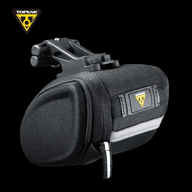 TOPEAK Aero cale sac de siège de vélo Pack de selle sac arrière de queue de vélo avec bande réfléchissante 3M agrandir Volume sac de vélo TC2282