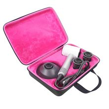 Seyahat taşınabilir taşıma çantası kapak saklama çantası kılıfı kol hediye kutu konteyner için Dyson süpersonik saç kurutma makinesi 19QE