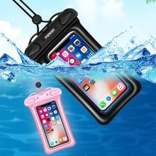 FONKEN Подушка Безопасности плавающий Водонепроницаемый чехол для телефона смартфон подводный сухой мешок IPX8 чехол для хранения для универсального сотового телефона Android