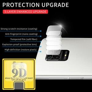 10 sztuk obiektyw aparatu ochraniacz ekranu szkło hartowane dla Xiaomi Mi 10 Lite 10Pro Redmi uwaga 9 9S 8 Pro 8T 7 Pro 6 K30 Pro