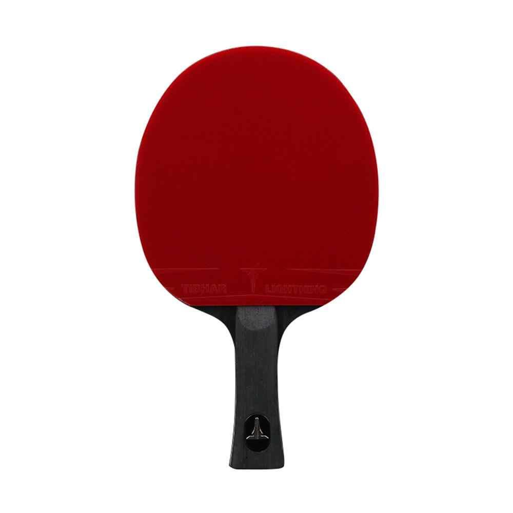 Raqueta de tenis de mesa TIBHAR, raqueta de Ping Pong con espinillas, hoja de alta calidad 6/7/8/9 estrellas con bolsa