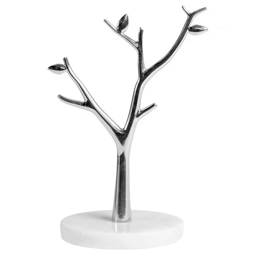 1pc Jewelry Rack Nice Chic Marble Durable Display Stand Tree Hanging Rack Tree Branch Rack Figurines Miniatures Aliexpress